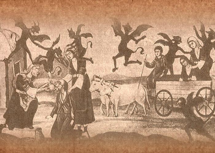 перекресток в мифологии славян