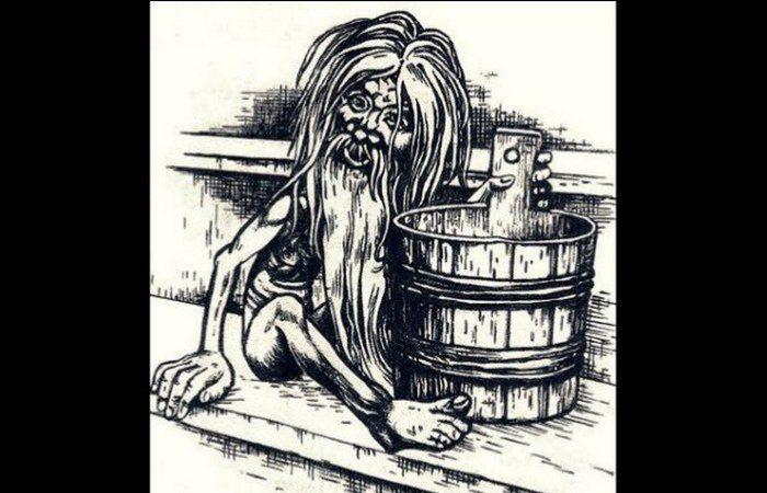 Банник - озорной дух