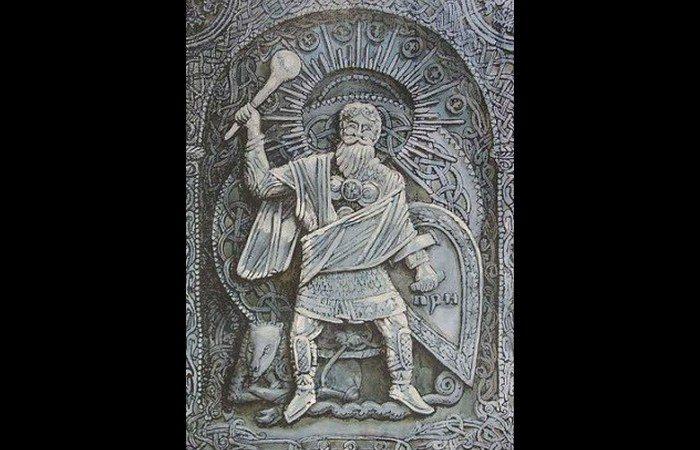 Бог грома Перун
