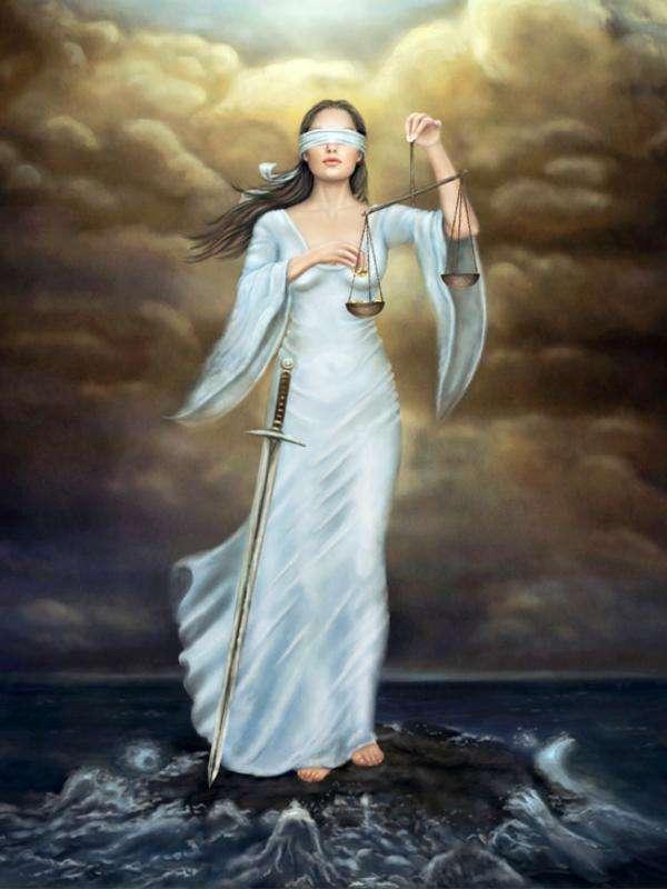 Юстиция - богиня правосудия