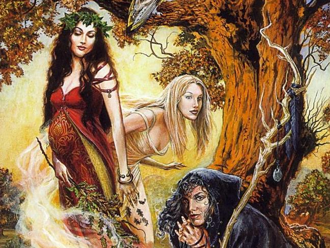 Вилы - женские духи