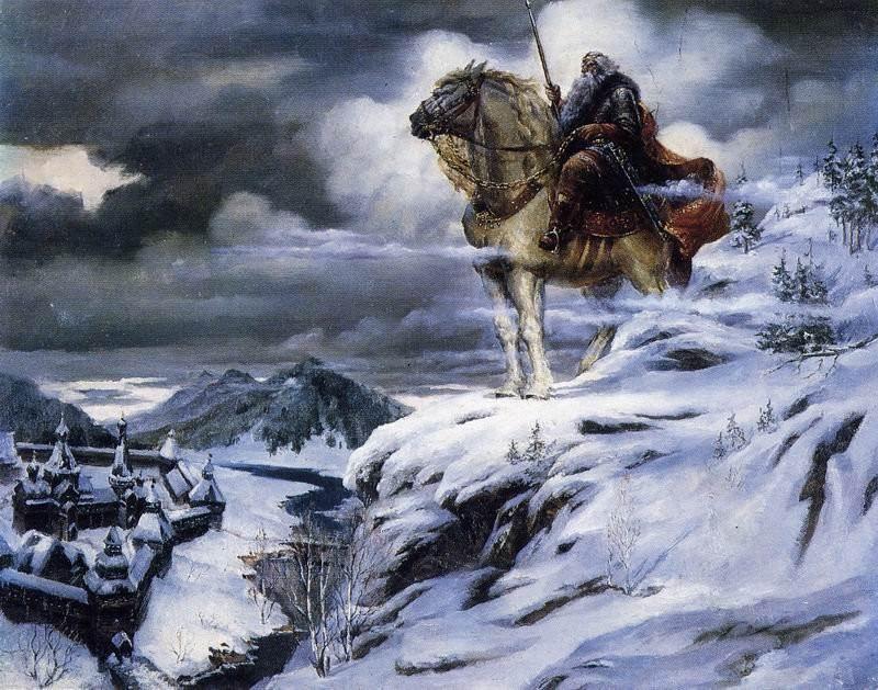 Неизвестные русские богатыри (14 картинок)
