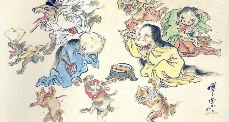 Японская синтоистская мифология