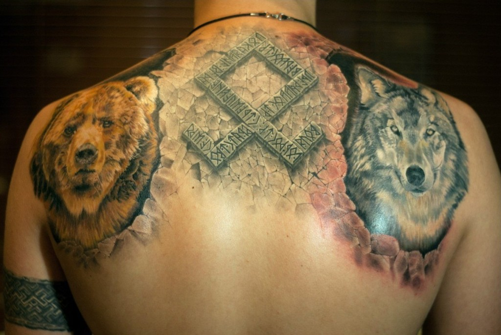 Славянские рунические татуировки